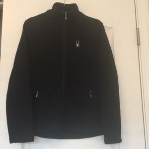 Jackets & Blazers - Spyder jacket black sz lg